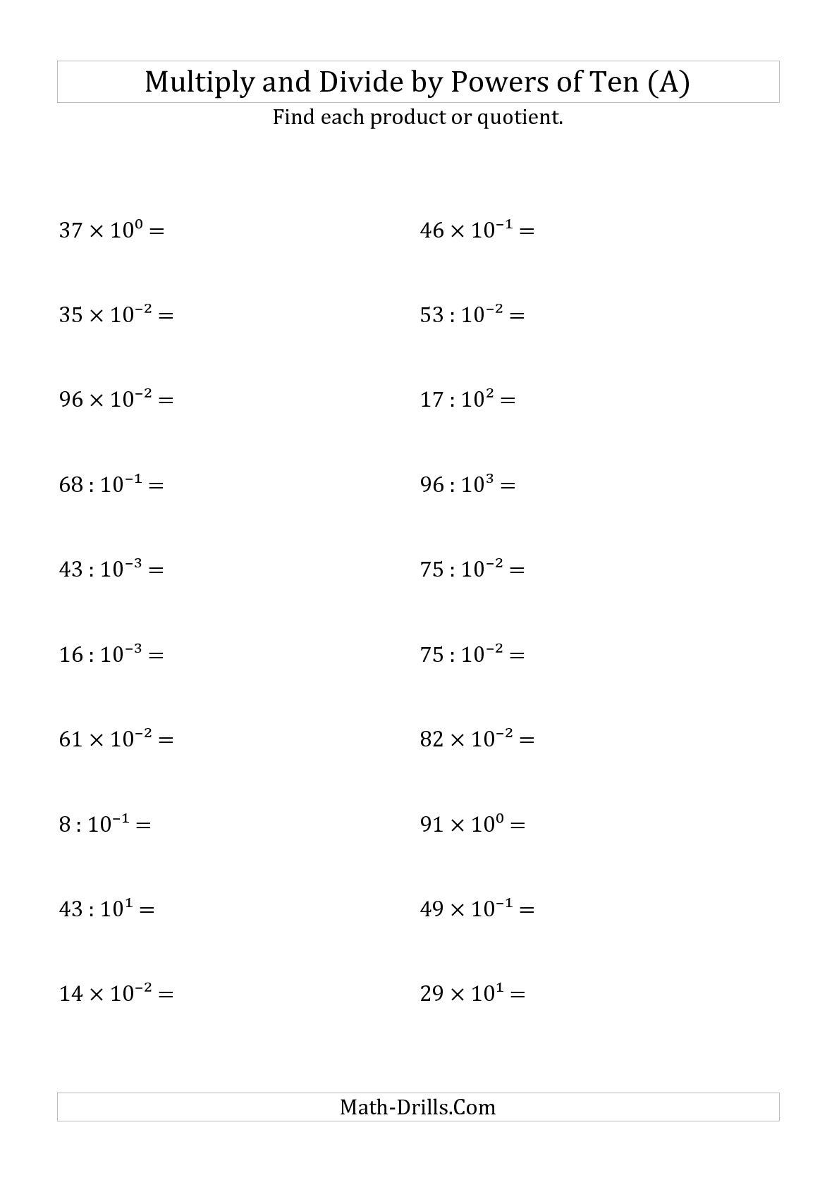 Algebra 2 Exponent Practice Worksheet Answers Awesome Division Property Exponents Worksheet Multiplicationes Answers